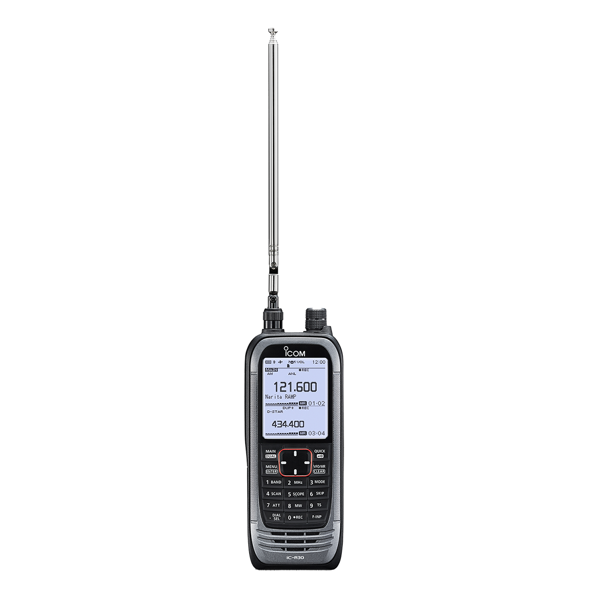 Hand-held receiver ICOM IC-R30 stopping of production   Integra-a