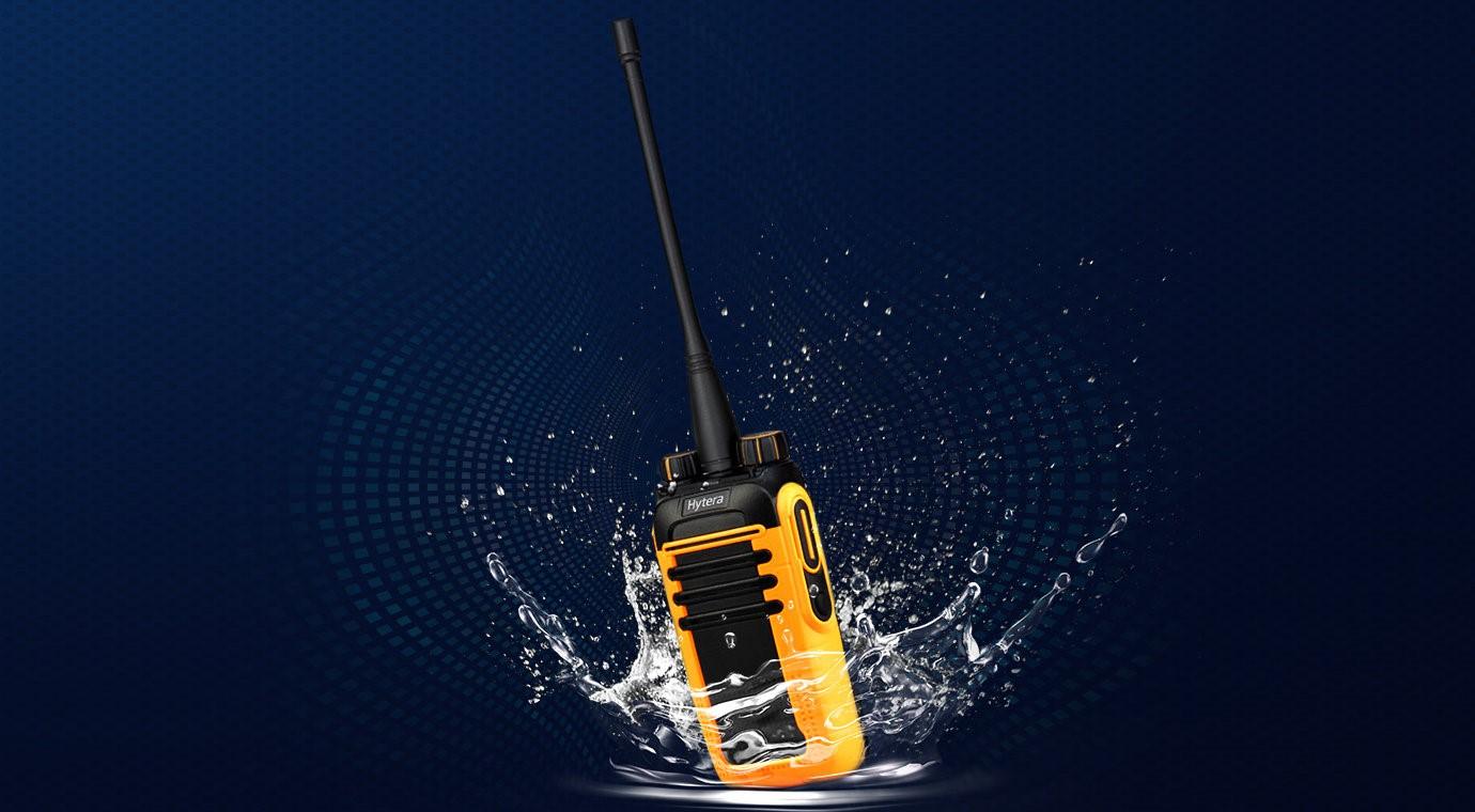 Новата радиостанция от Hytera BD-615 е идеалният избор за работа в сурова среда   Integra-a