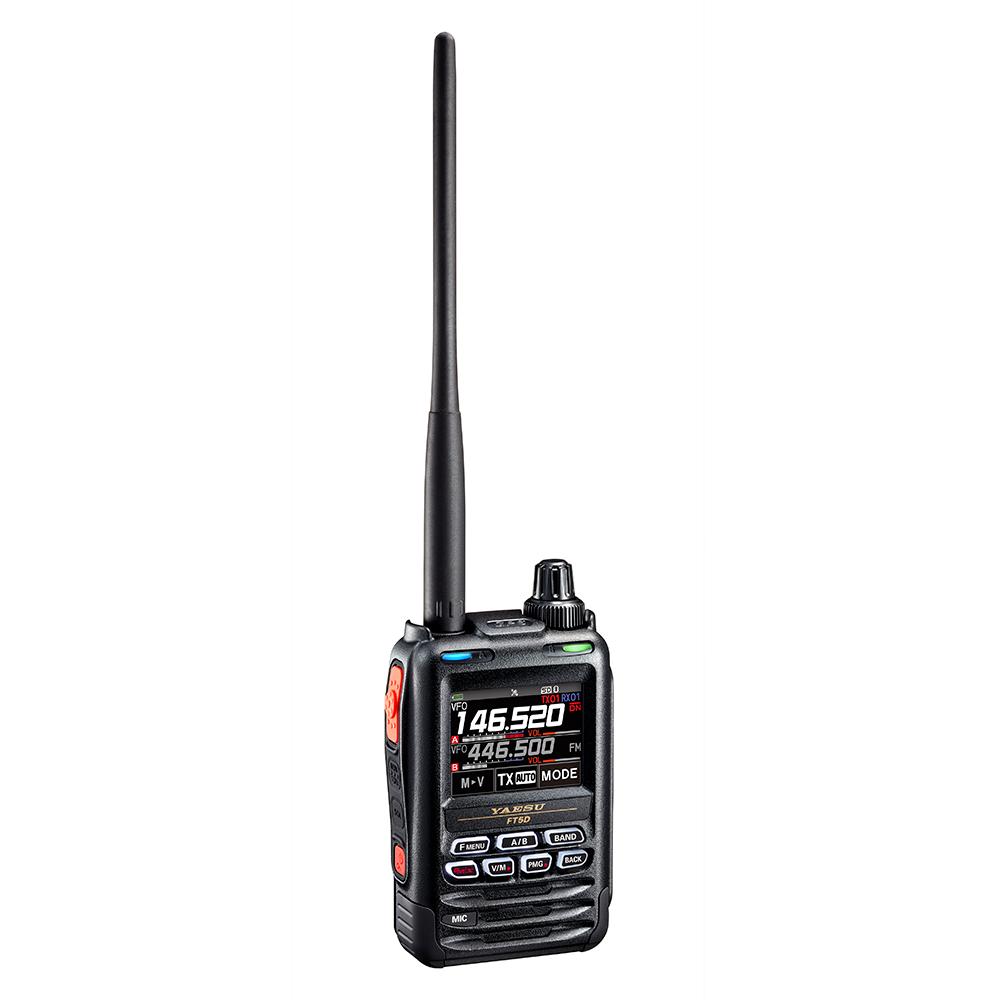 Имаме удоволствието да ви информаираме, че YAESU пускат своят нов модел двубандова радиостанция FT- 5DE   Integra-a